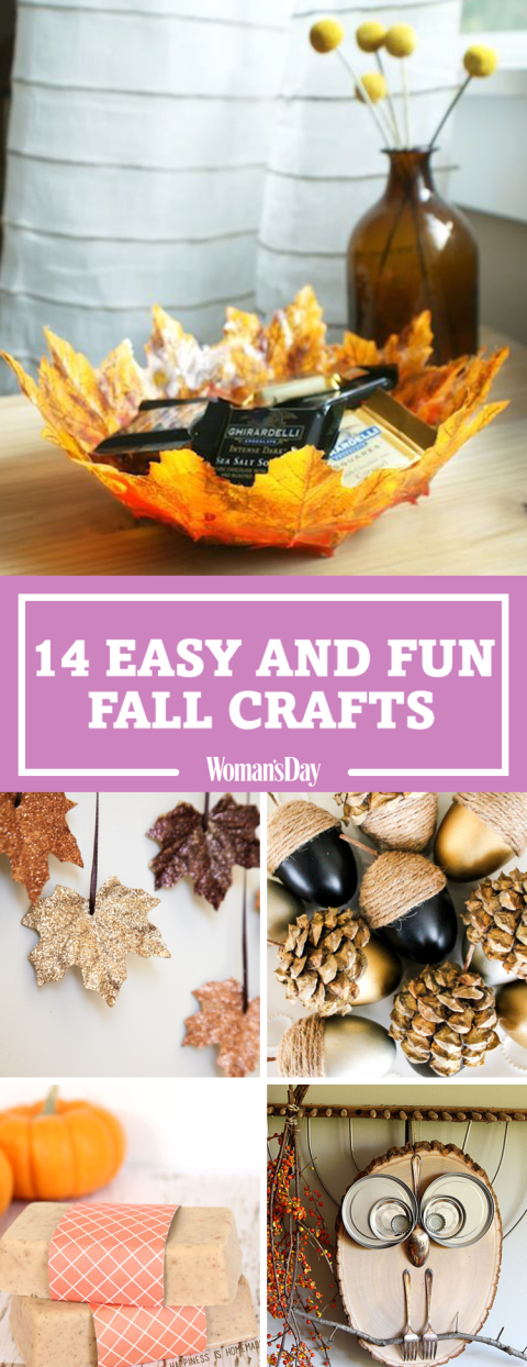 Easy Fall Crafts Fun Ideas For Autumn Crafts