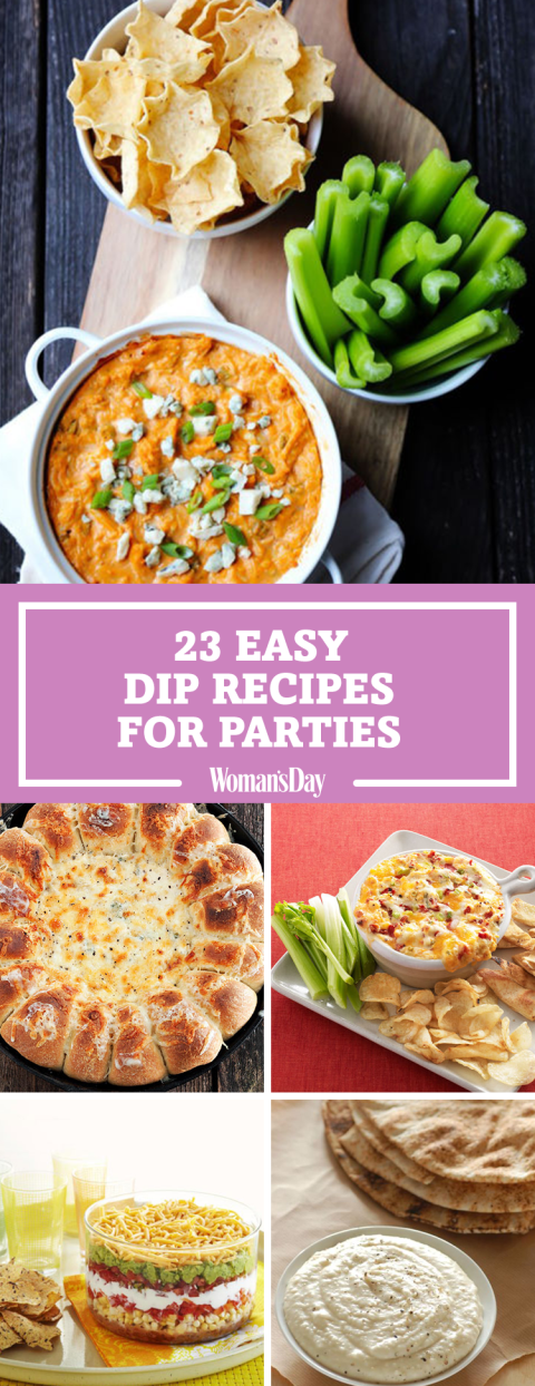 Easy dip recipes for parties