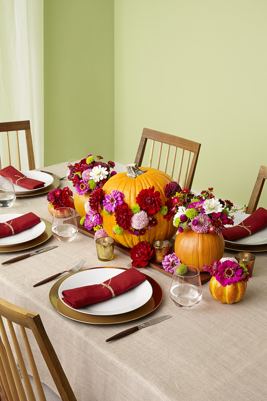 Fall and thanksgiving centerpieces diy ideas for