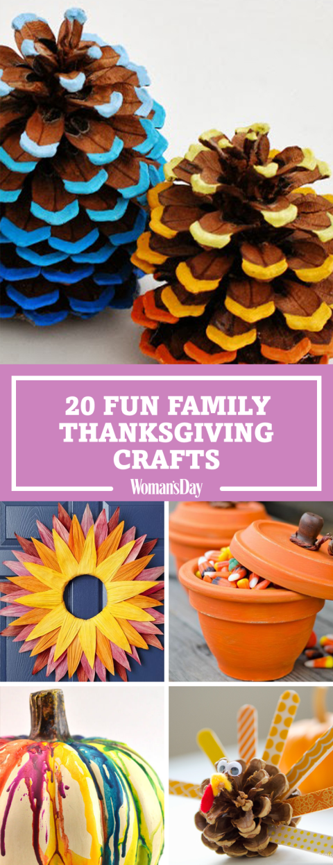 Nice Fun Thanksgiving Crafts For Kids Part - 2: Pin These Ideas!