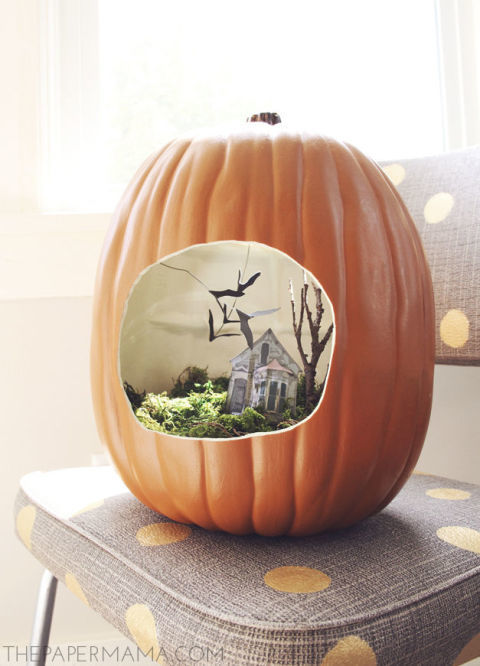 the paper mama more from halloween - Halloween Diorama Ideas