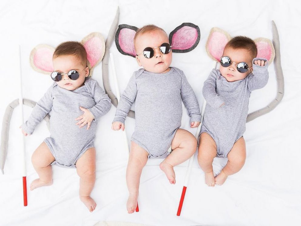This Mom Creates Awesome DIY Halloween Costumes for Her Triplets