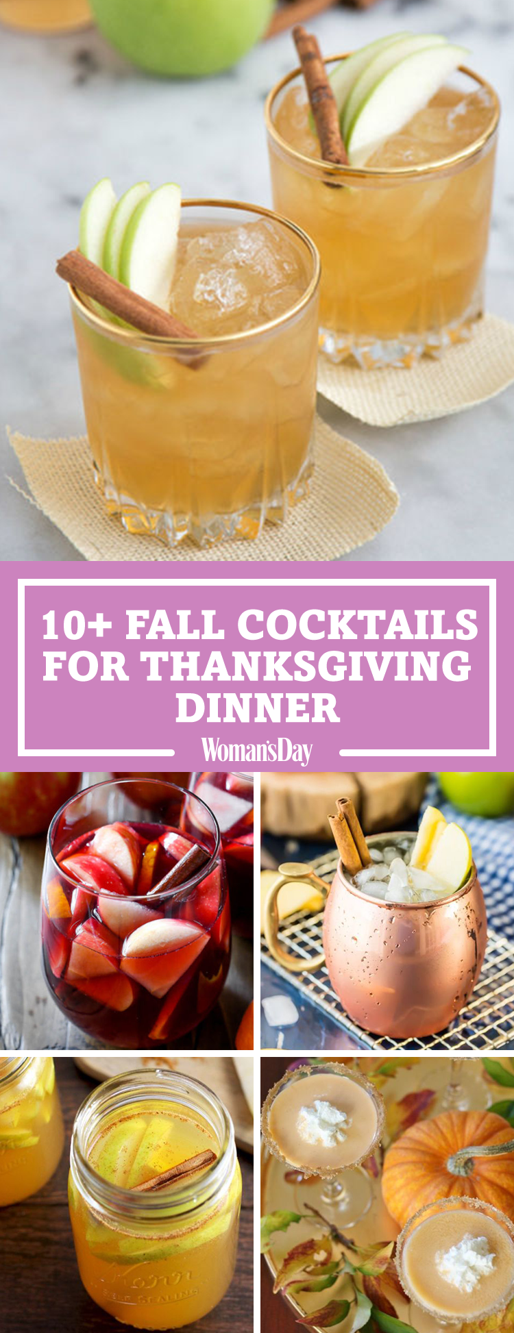 14 best fall cocktails for thanksgiving recipes for easy for Thanksgiving drinks alcoholic recipes