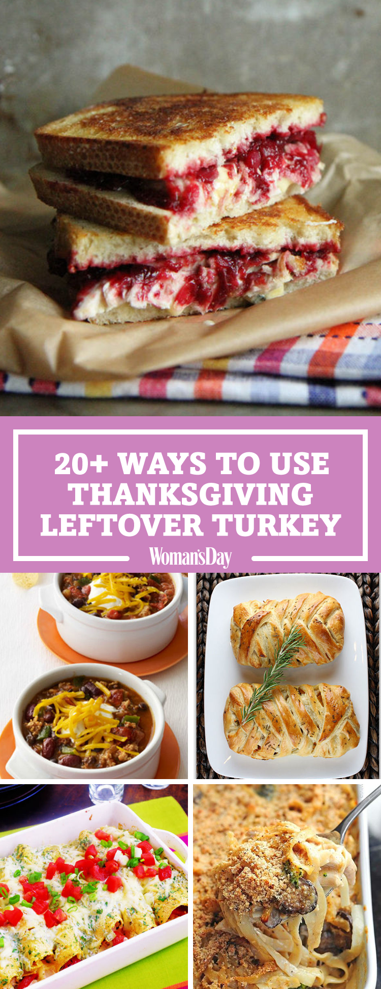 23 easy leftover turkey recipes what to make with for Leftover thanksgiving turkey recipes