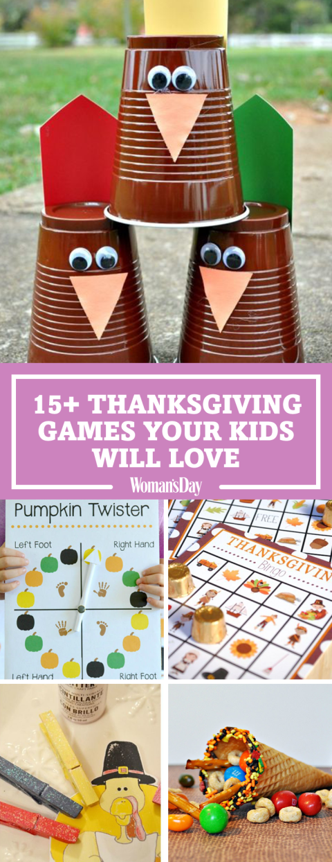 Diy thanksgiving games for kids fun