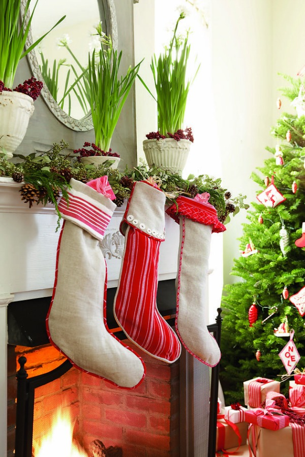 Diy Christmas Stockings How To Make Christmas Stockings Craft