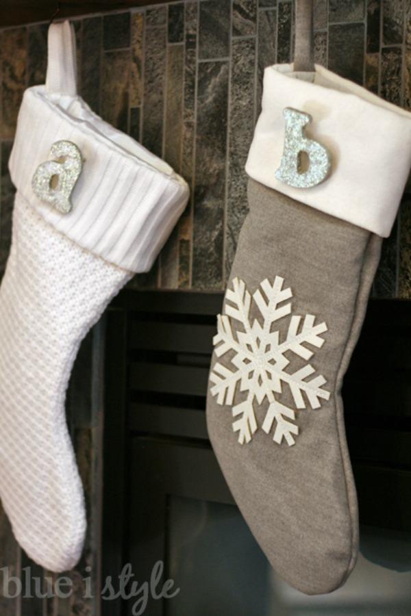 18 DIY Christmas Stockings - How to Make Christmas Stockings Craft ...