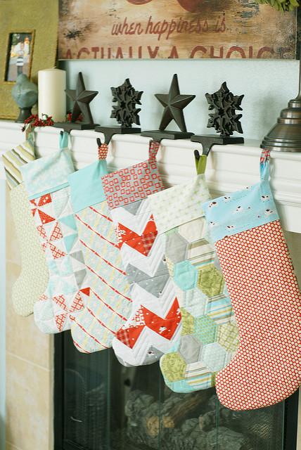20 Diy Christmas Stockings How To Make Christmas