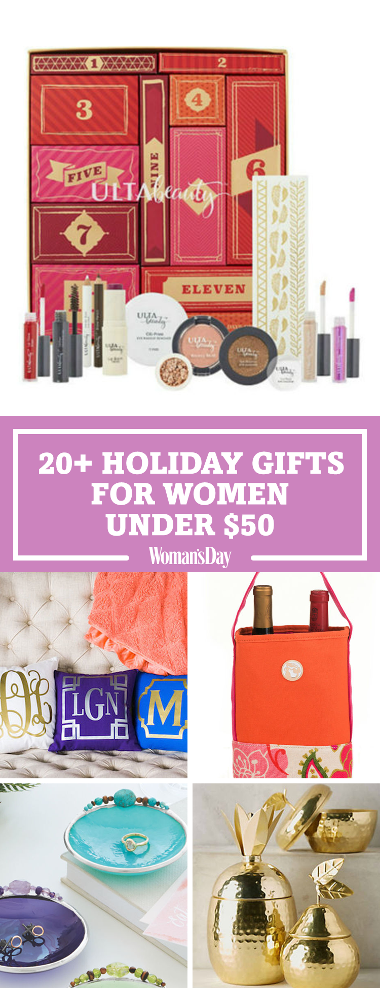 36 Best Christmas Gifts For Women Under 50 Unique