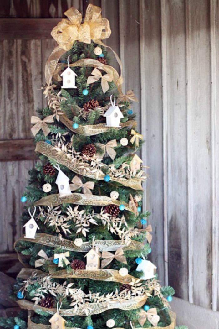 Unique Christmas Tree Decoration Ideas Pictures Of Decorated - Christmas tree ideas