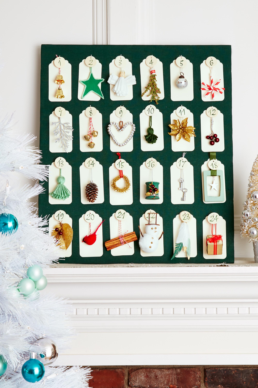 Self Made Christmas Calendar : Homemade diy christmas ornament craft ideas how to