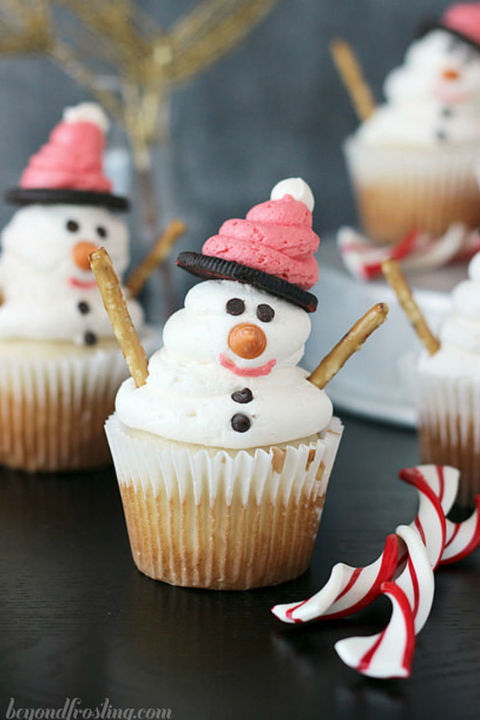 Christmas cup cake recipe images Cupcake decorating ideas