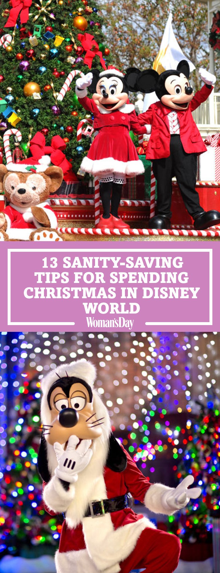 Disney World Tips - Save these sanity saving tips for spending christmas at disney world for later don t forget to follow woman s day on pinterest for more great christmas