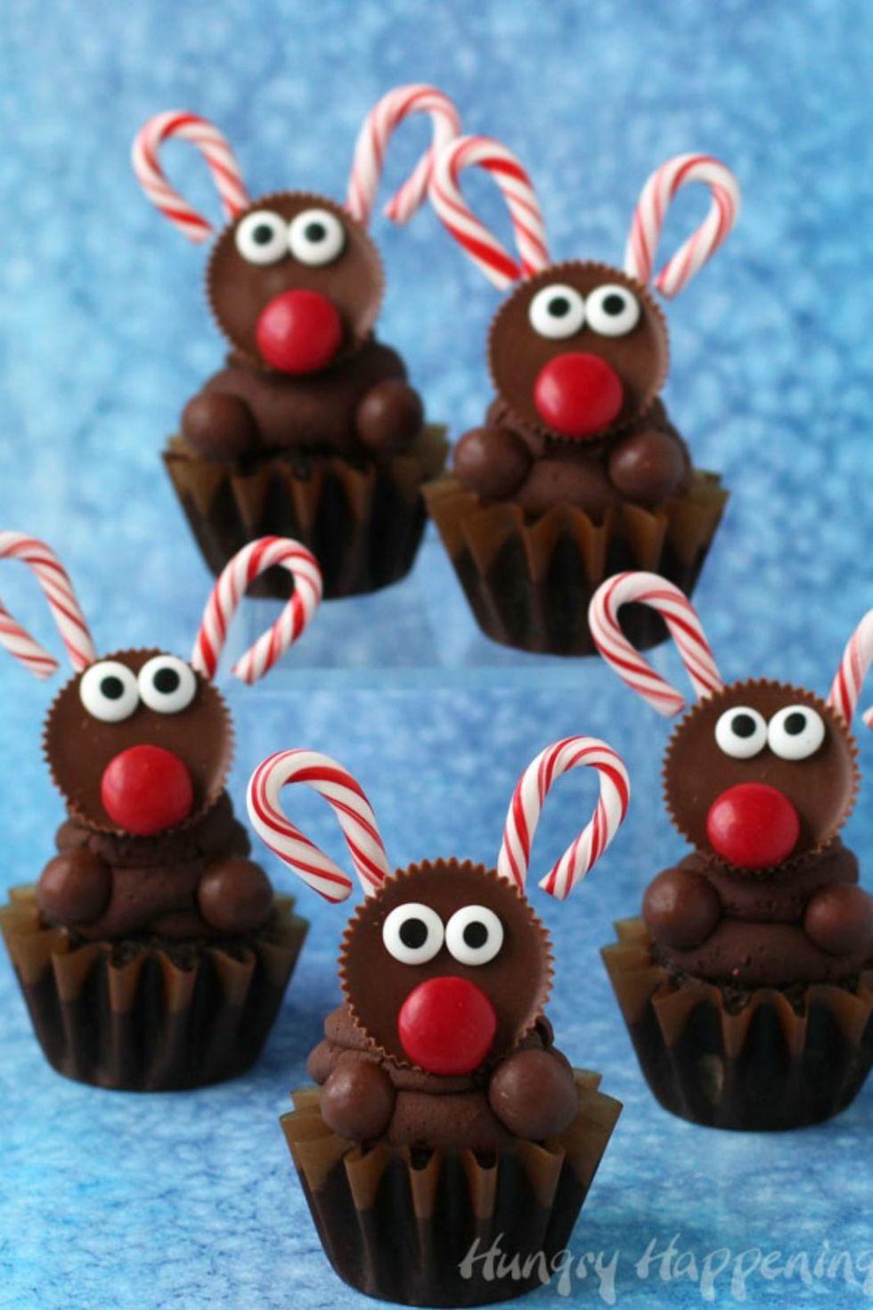 17 best reindeer cupcakes and desserts best reindeer cookies