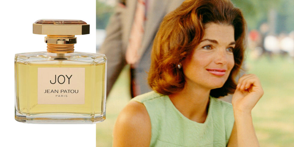 While Jackie wore several perfumes throughout her life, one of her favorites was the classic Joy by Jean Patou, known for years as the most expensive perfume in the world. For just one ounce of the heavily floral scent, more than 10,000 jasmine flowers and 28 dozen roses are required—a risky business decision, especially since the scent was created in 1929 at the start of the Great Depression. The aura of uber-luxury and prestige worked: Joy went on to become one of the most successful fragrances of all time, and was voted Scent of the Century in 2000 at the Fragrance Foundation's FiFi Awards.