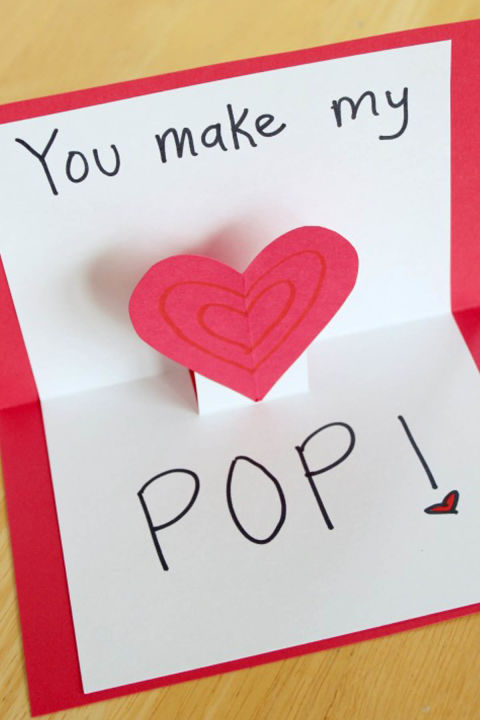 14 Cute Diy Valentine'S Day Cards - Homemade Card Ideas For