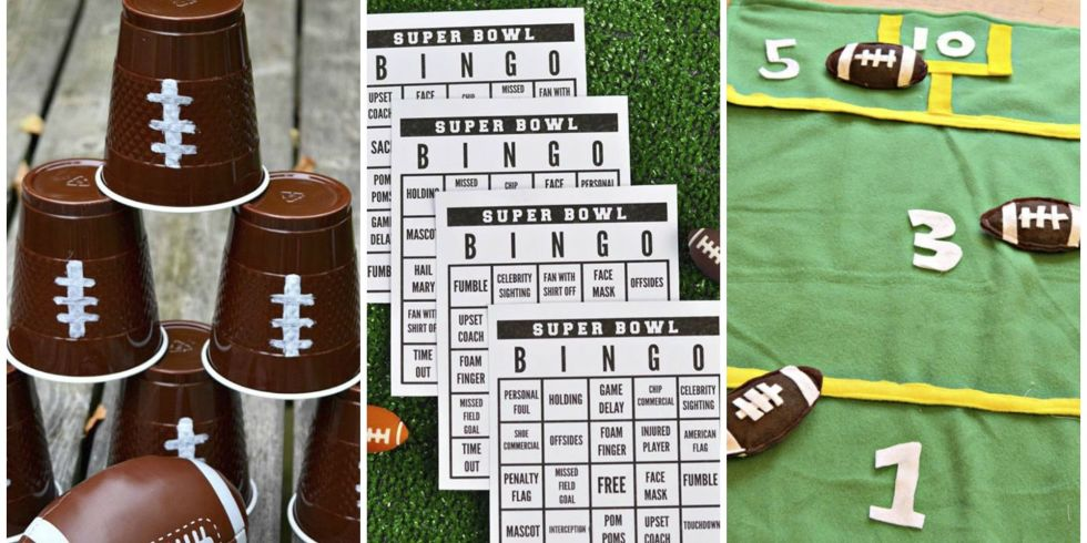Super Bowl Party Ideas super bowl party game ideas - football party ideas