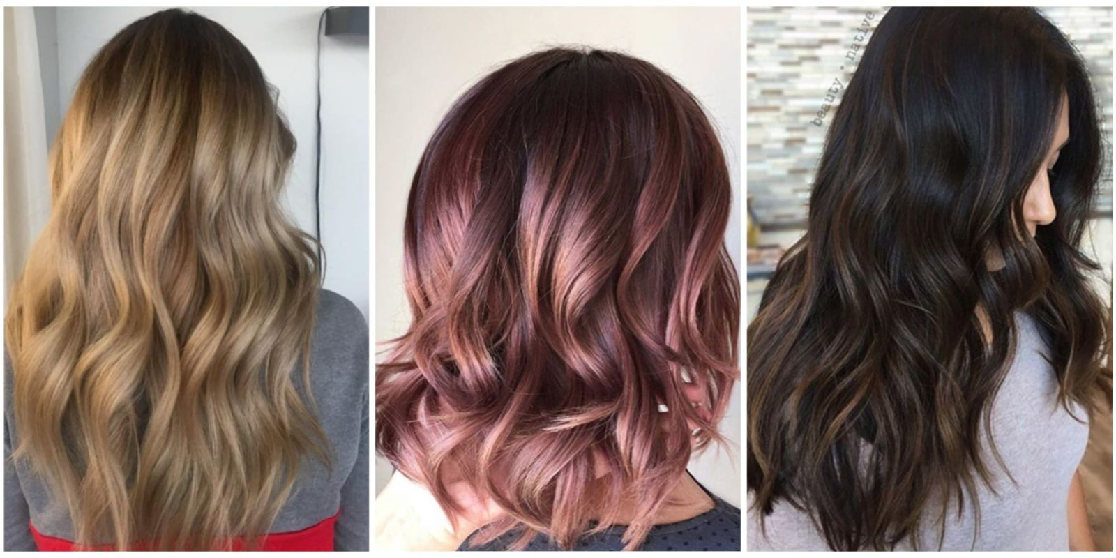 2018 Hairstyle For Dark Hair Color: Hair Color Ideas And Styles For 2018