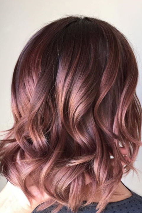 Hair color ideas and styles for 2018 best hair colors and products 6 chocolate mauve pmusecretfo Gallery