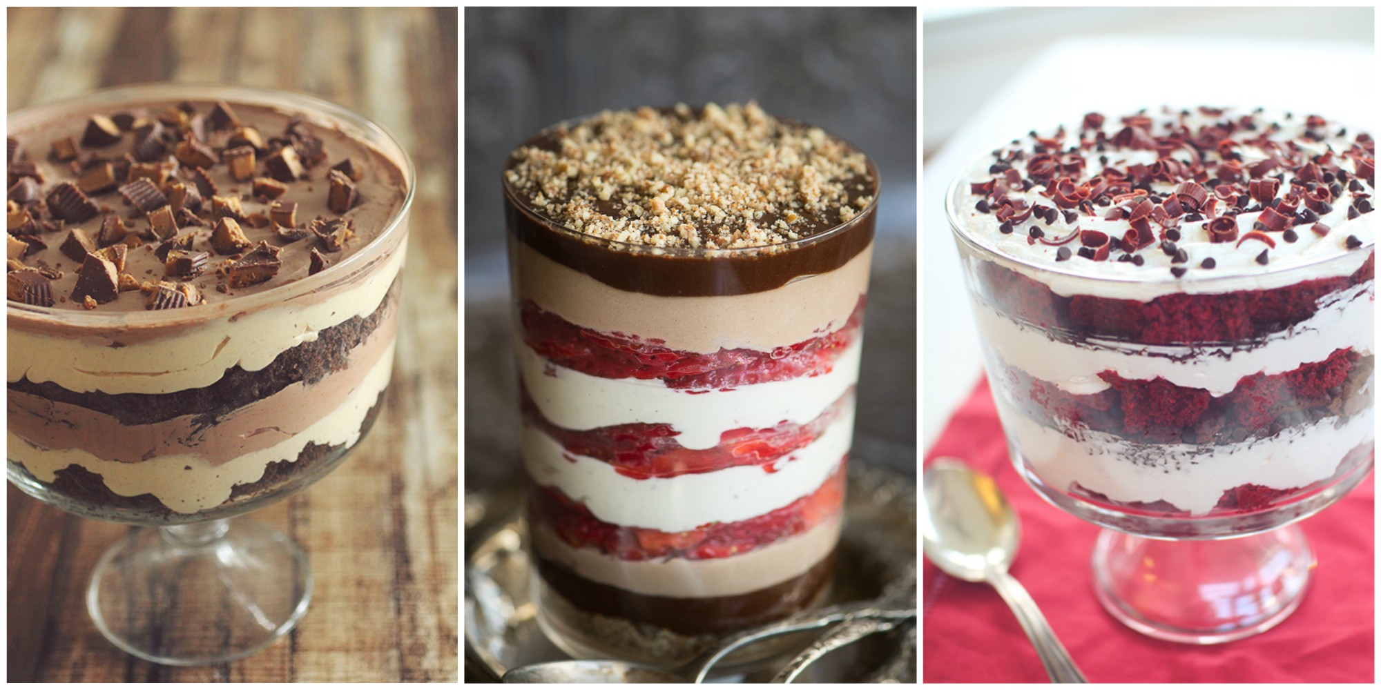 Best healthy trifle recipes how to make healthy and easy for Quick easy healthy dessert recipes