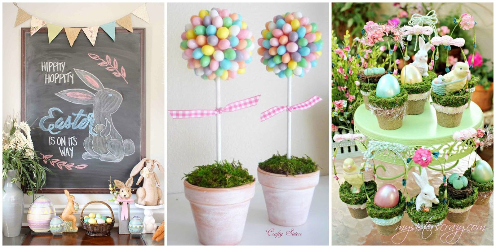 20 diy easter decorations to make homemade easter decorating ideas - Easter Decorating Ideas