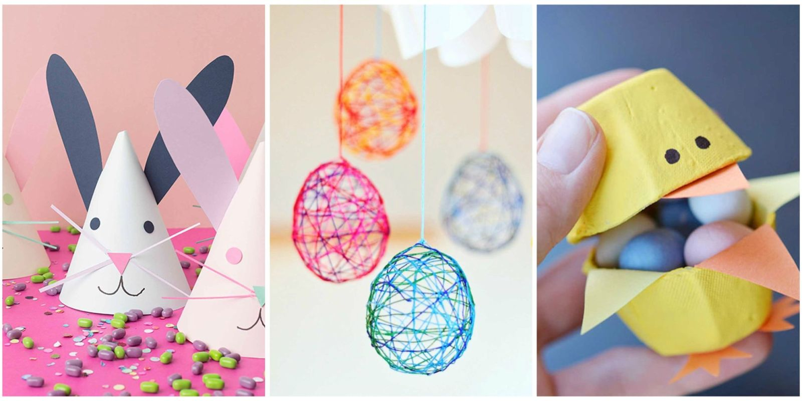 21 fun easter crafts for kids easter art projects for for Family arts and crafts