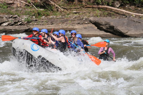 I Risked My Life Whitewater Rafting to Prove to My Ex That I Could