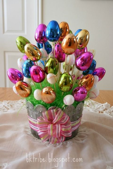 30 easter basket ideas for kids best easter gifts for babies easter egg bouquet negle Image collections