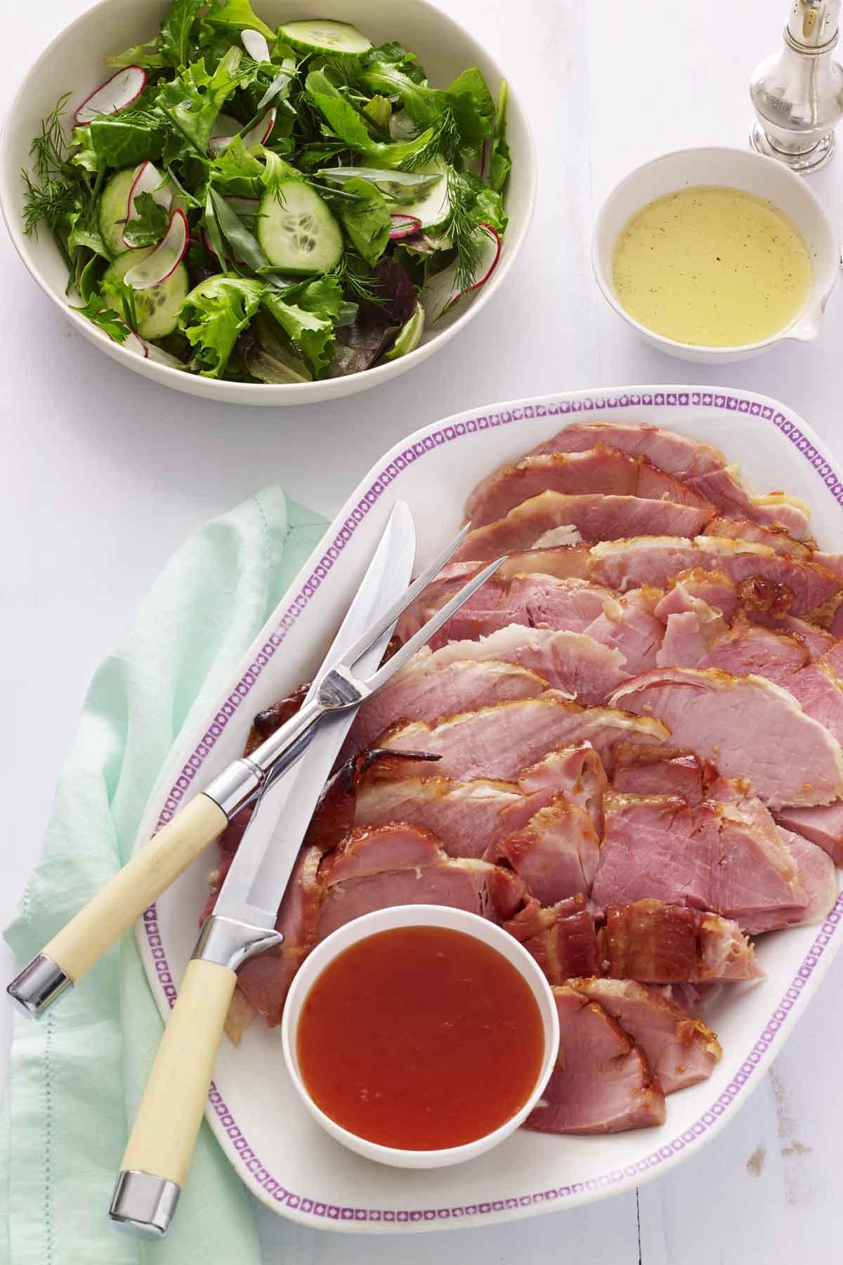 21 easy easter dinner ideas recipes for the best easter for Food for easter dinner