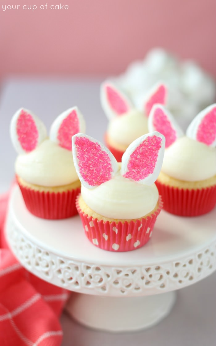 20 Cute Easter Cupcakes- Easy Ideas for Easter Cupcake Recipes