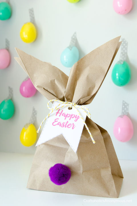 13 easter party ideas easter party decorations easter bunny gift bags negle Images