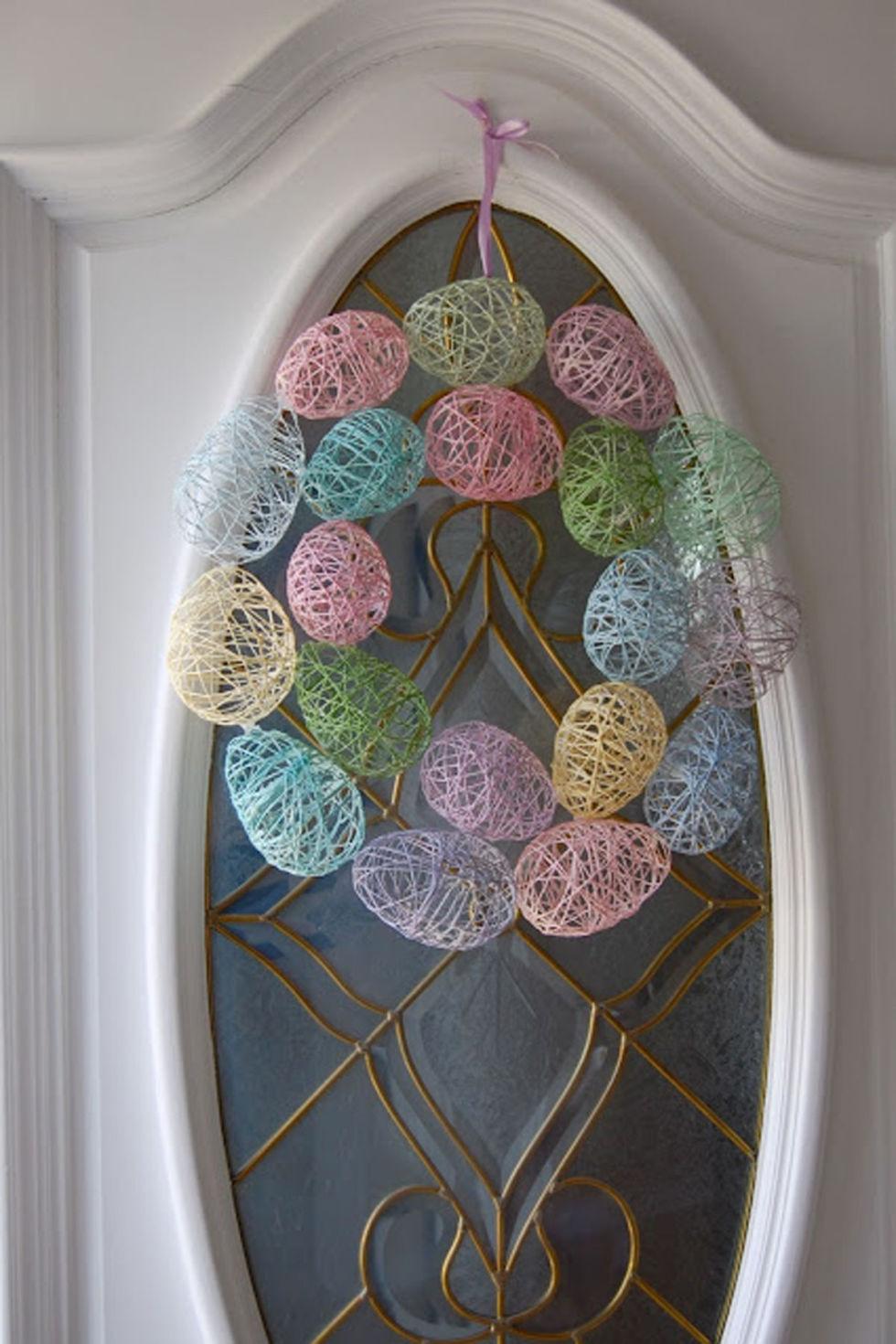 13 diy easter wreaths to make homemade easter door wreath crafts