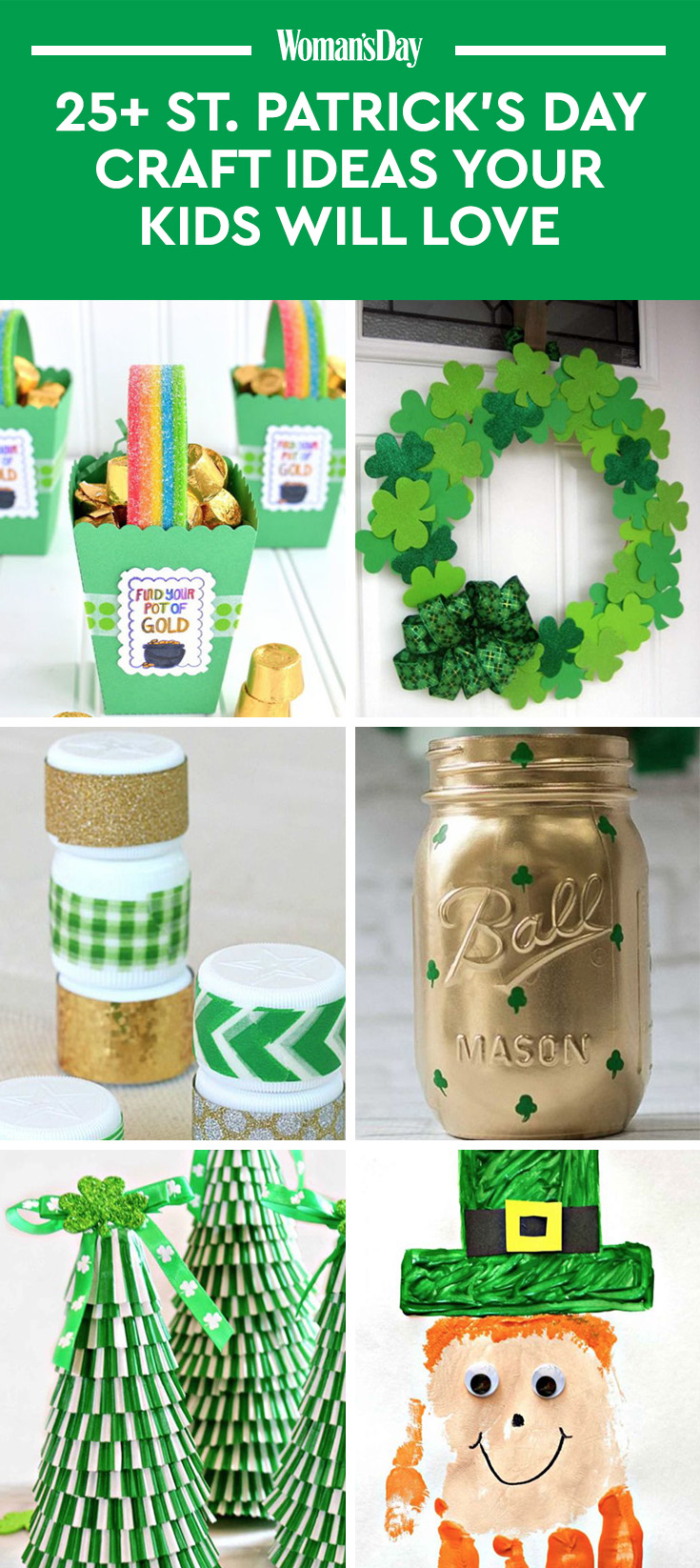26 st patrick 39 s day crafts for kids diy project ideas for St patrick day craft ideas