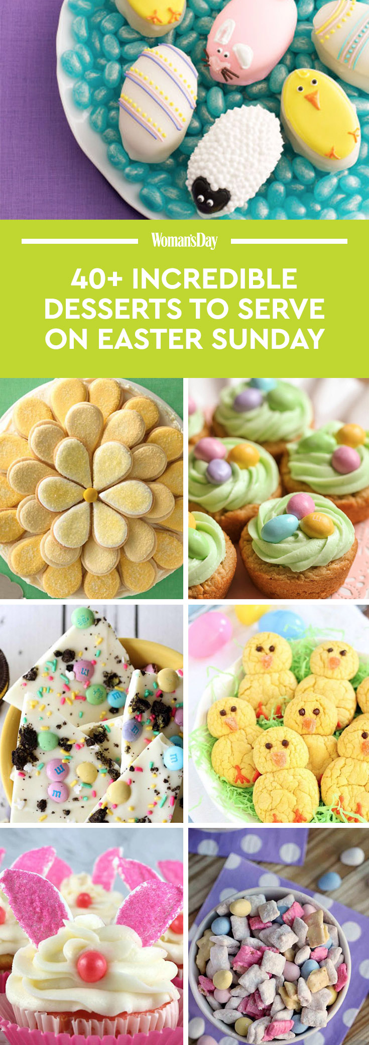 48 best easter desserts easy ideas for easter dessert for Easy dessert recipes for easter