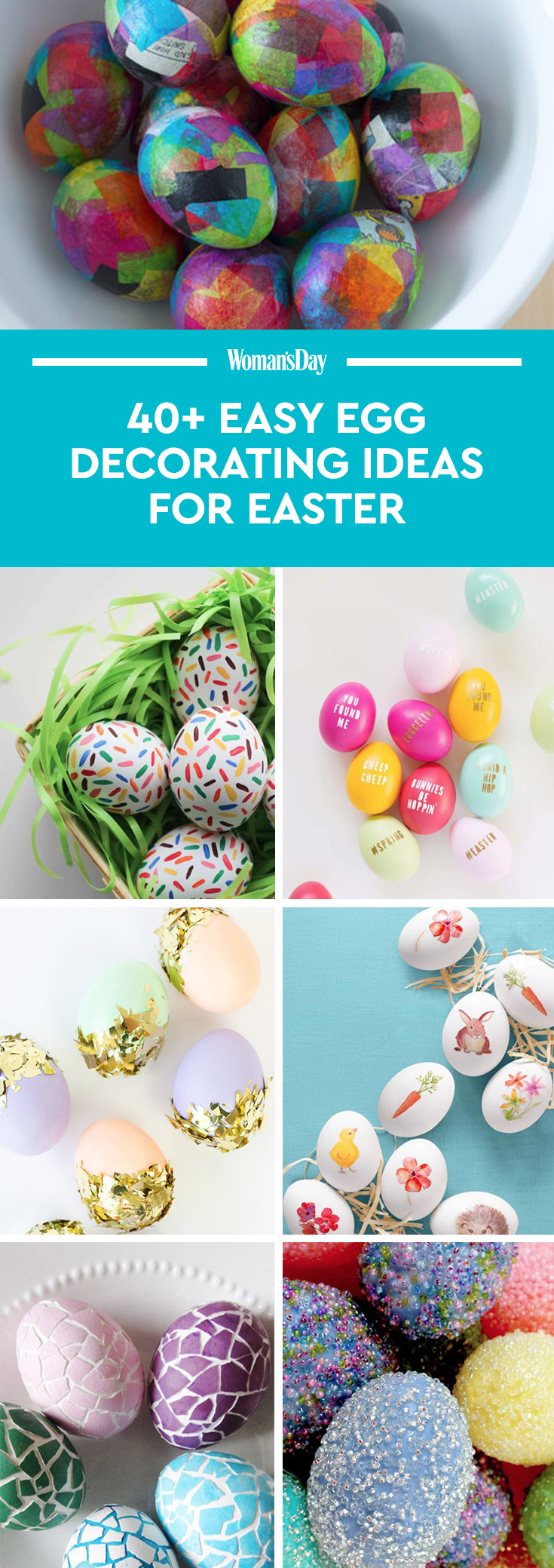 42 cool easter egg decorating ideas creative designs for for Easter egg ideas