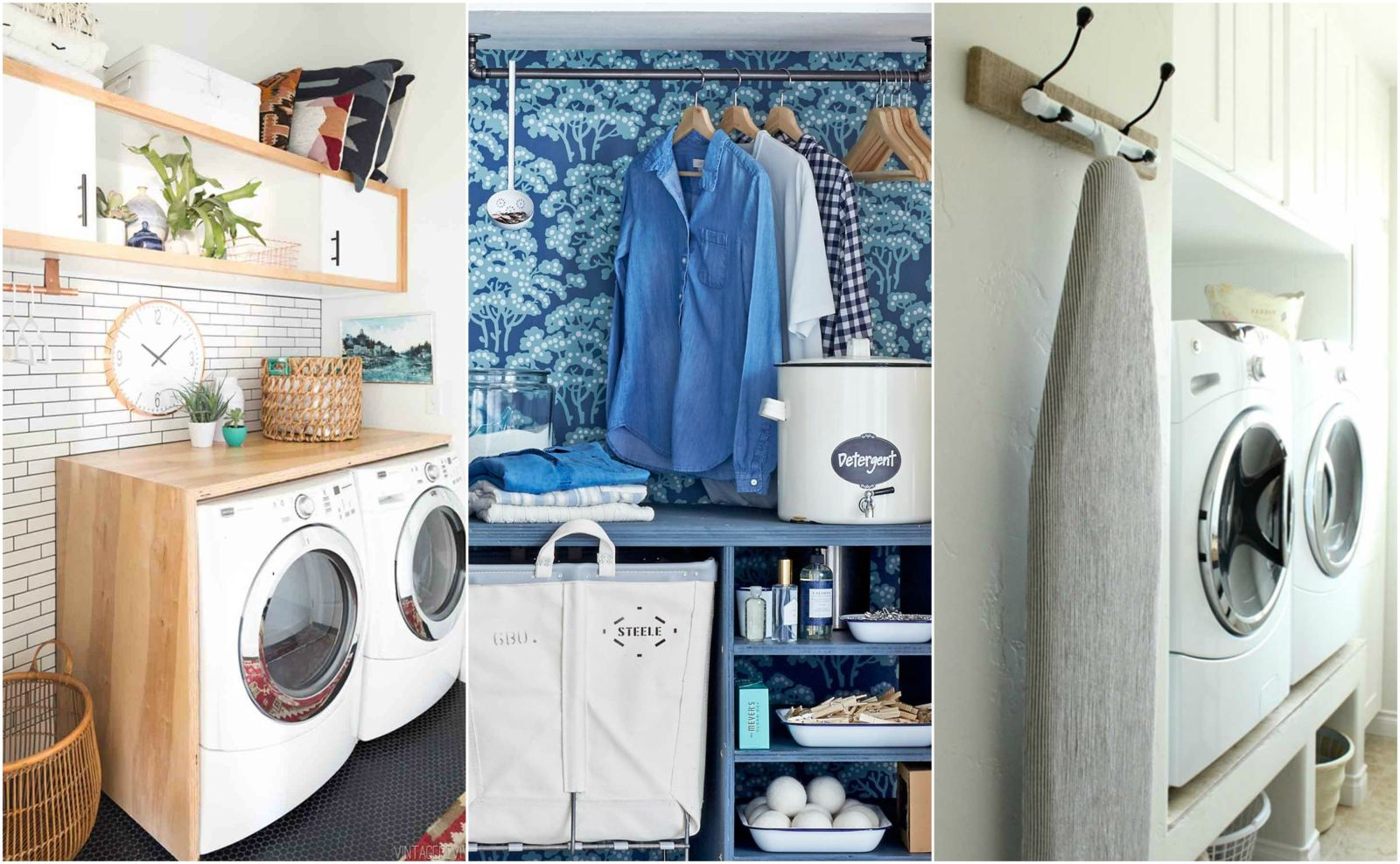 Gorgeous 60 laundry room organization design inspiration for Laundry home