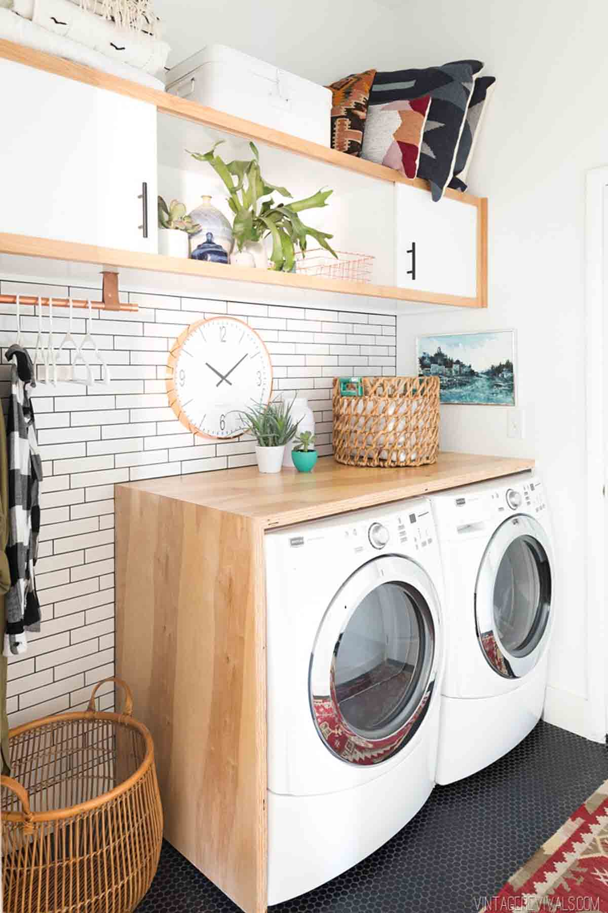 15 laundry room storage and organization ideas how to. Black Bedroom Furniture Sets. Home Design Ideas