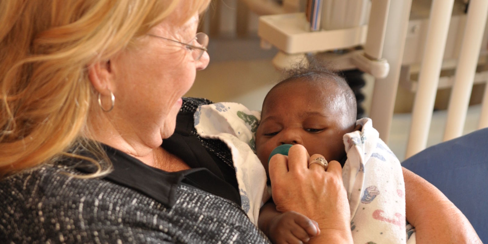 These Women Give Back by Rocking Hospitalized Babies Who Need Love