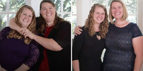 Sibling Rivalry Helped These Sisters Lose a Combined 245 Pounds