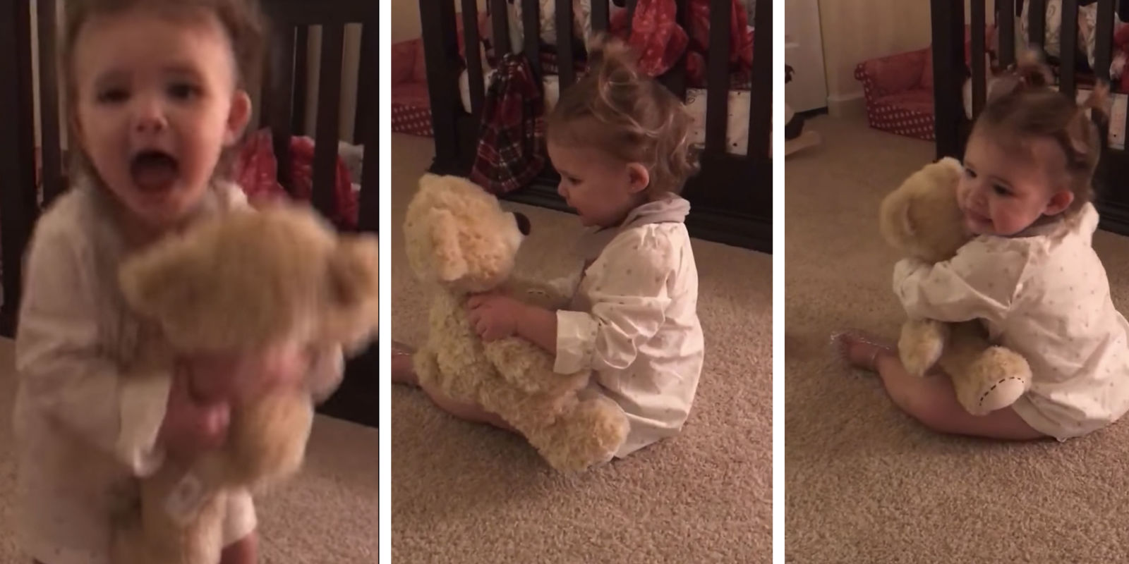 viral video watch this baby lose it after hearing her