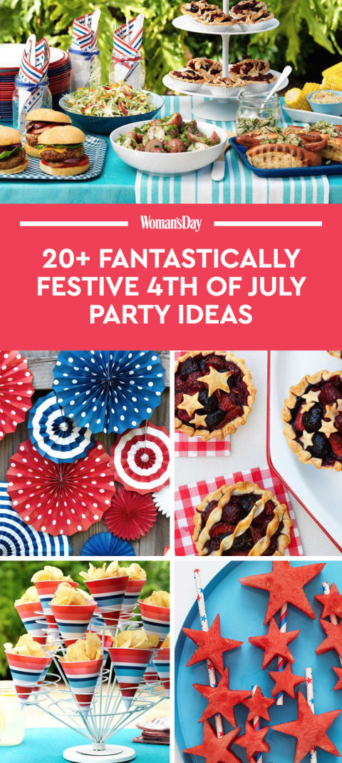 24 4th of july party ideas food decor for a fourth of for 4th of july celebration ideas
