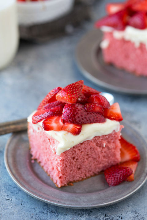 How To Sweeten Strawberries For Cake