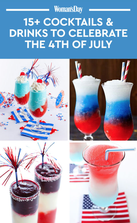 17 Easy 4th Of July Drinks & Cocktails