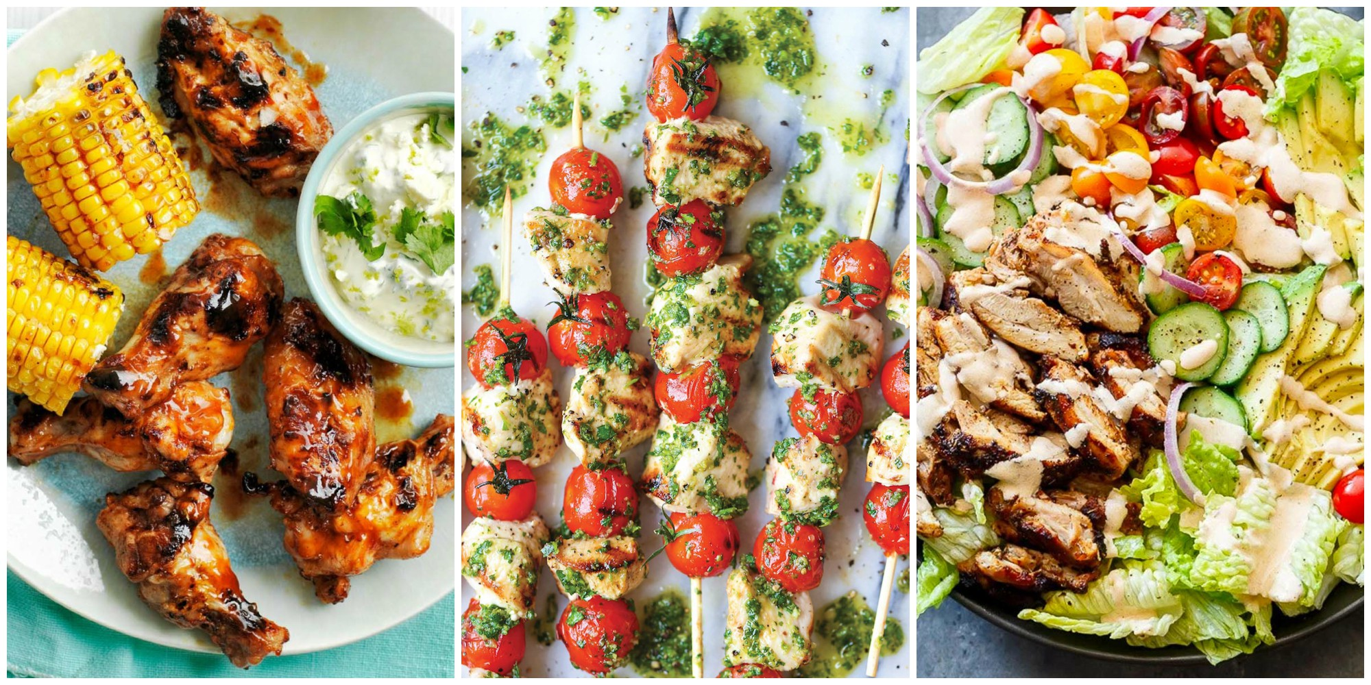 13 best grilled chicken recipes dinner ideas with for Good side dishes for grilled chicken
