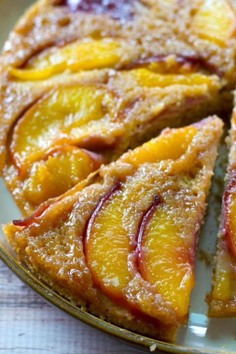 Easy Fresh Peach Coffee Cake
