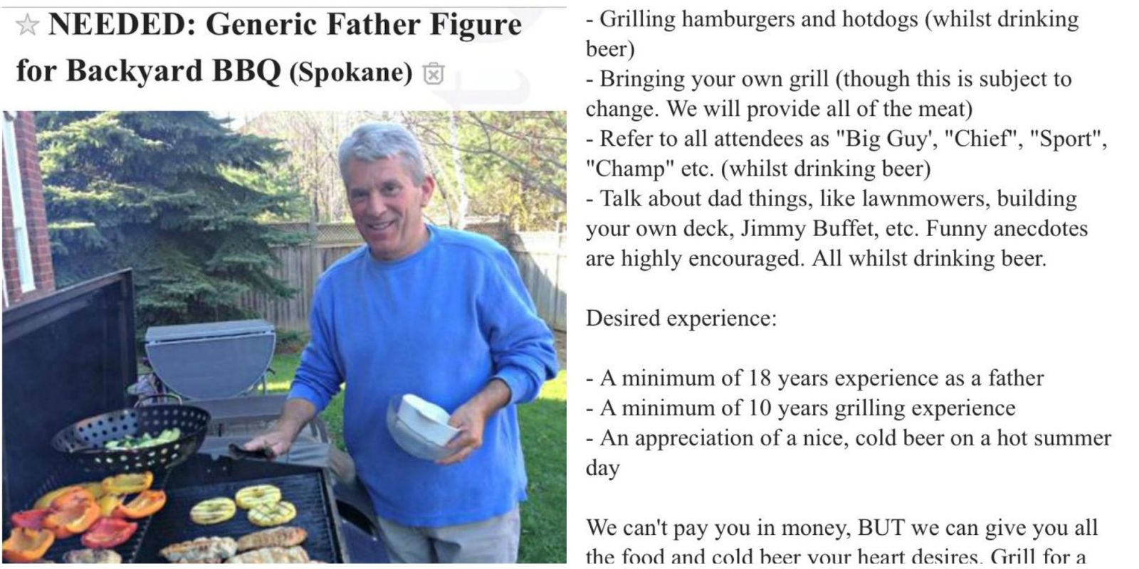 bbq recipes for father u0027s day