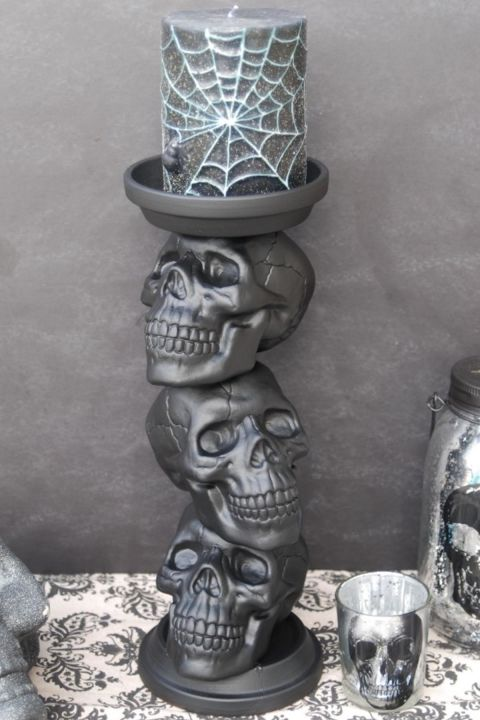 50 Easy Halloween Decorations - Spooky Home Decor Ideas ...