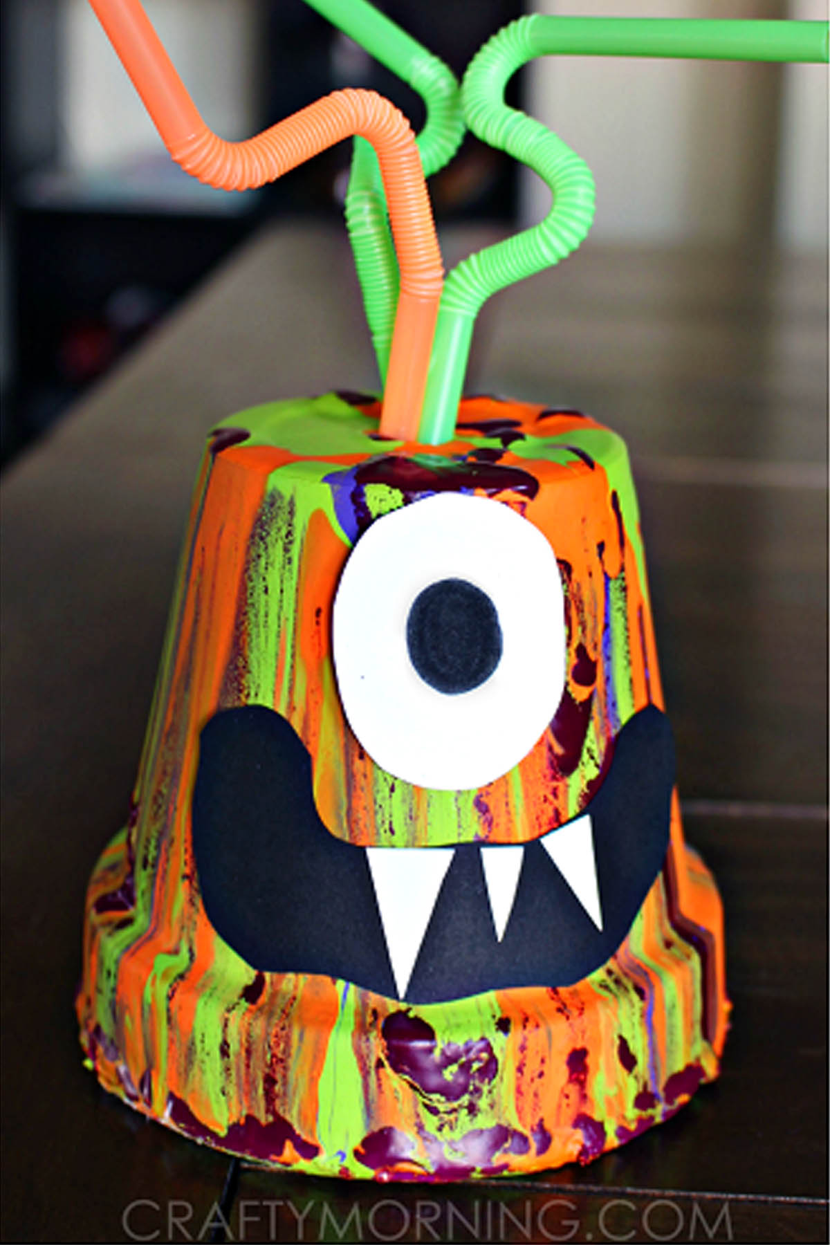 25 Spooktacular Halloween Crafts for Kids of All Ages. Grab a handful of paper plates and some washable paints and your kids can create a flock of bats, a bony skeleton, or a line of grinning jack-o-lanterns. Plastic spoons can become toothy vampires, and cotton balls make for the perfect fluffy ghosts.