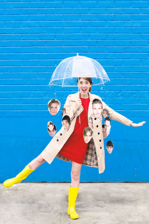 its raining men - 2017 Men Halloween Costume Ideas