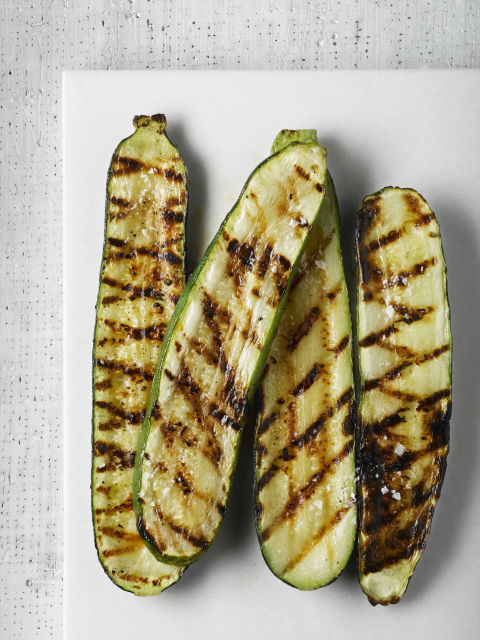 """Grilling veggies means less opportunity for food to be dripping in oil or deep fried,"" says London. Plus, the BBQ adds a boost of yummy flavor. Veggies taste so different grilled, you'll want to load them on your plate. How to grill vegetables the right way »"